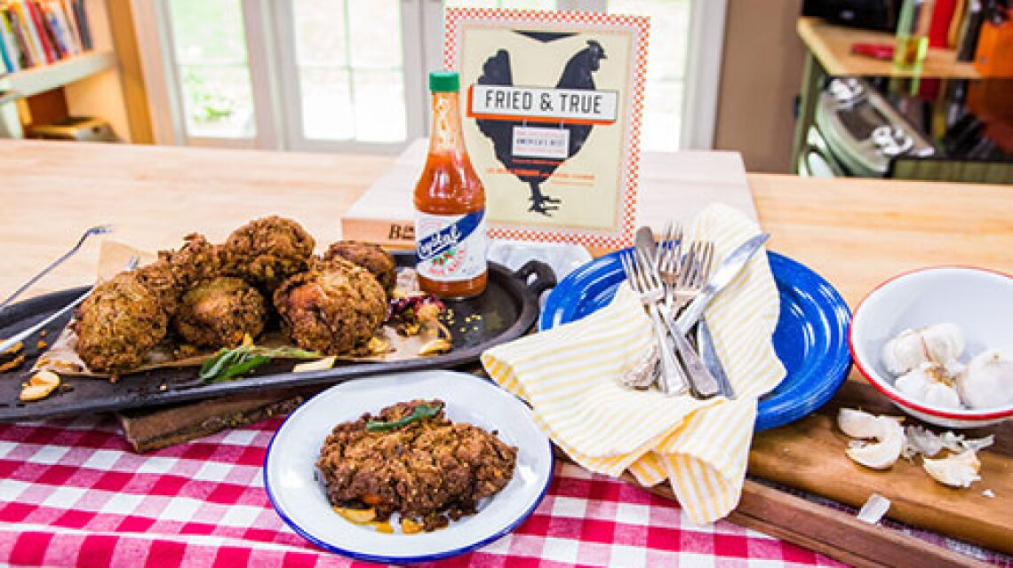 Honey's Kettle Home-Style Smashed Garlic Fried Chicken