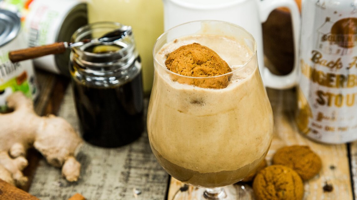 Gingerbread Stout Ice Cream