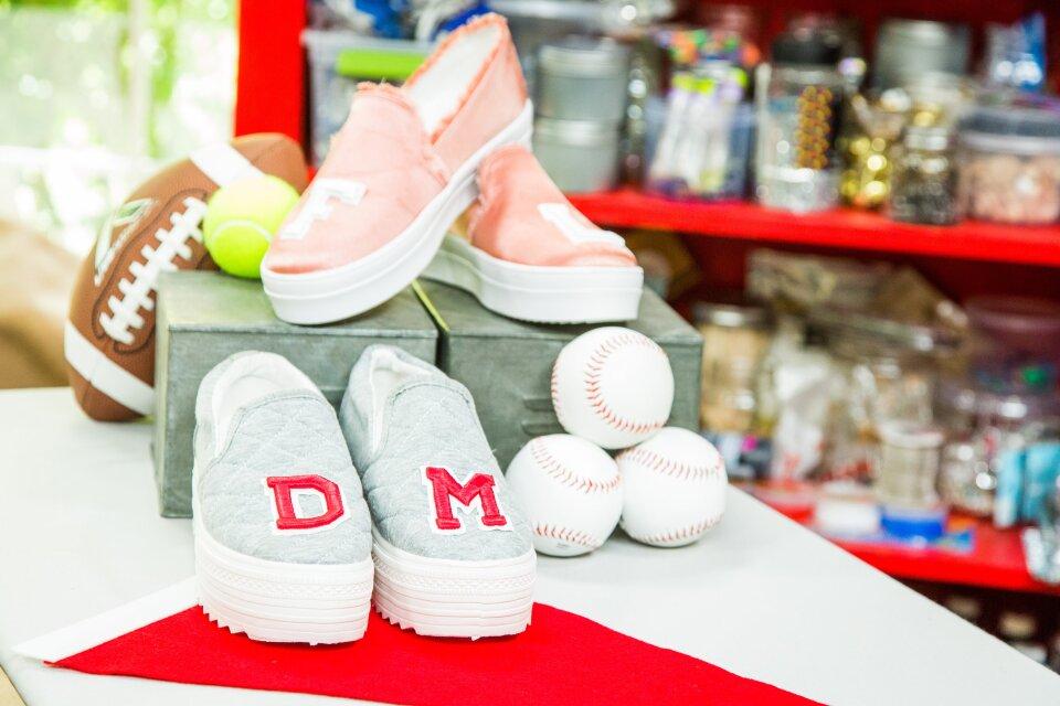 DIY Varsity Letter Loafers