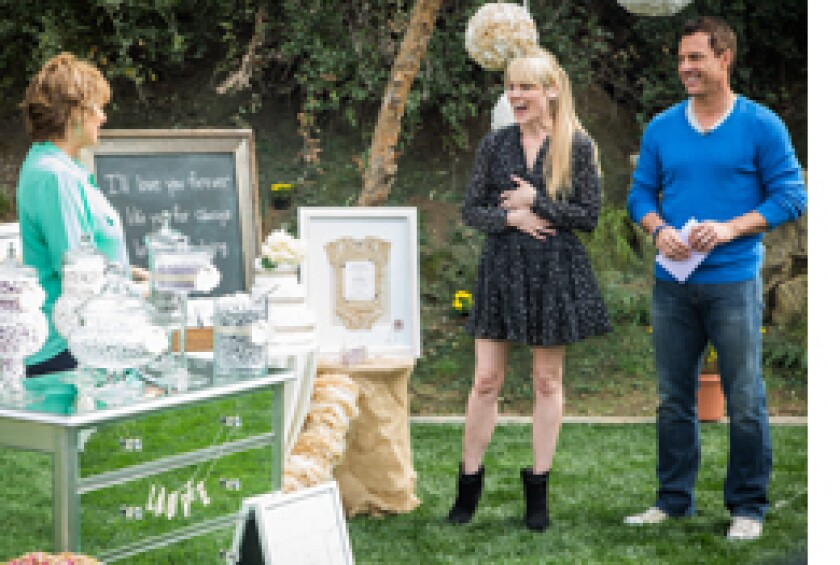 Today on Home & Family: The Home & Family Baby Shower