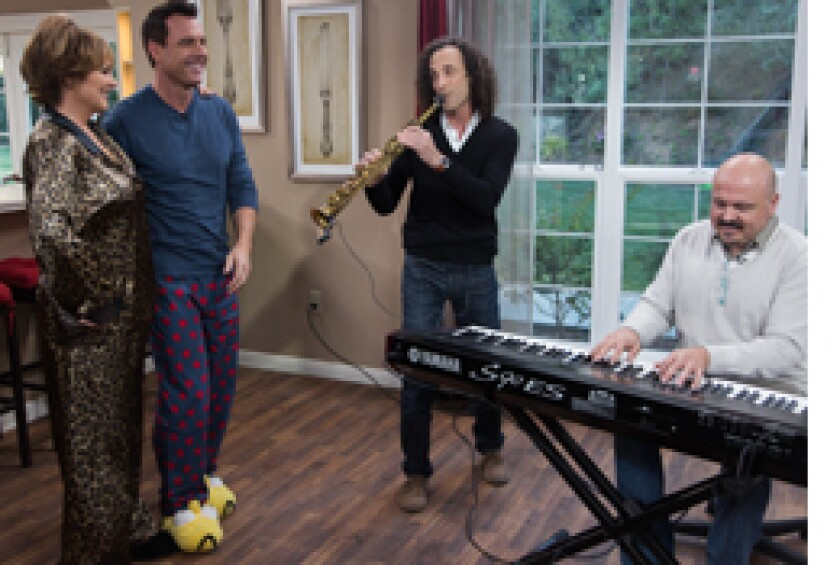 Today on Home & Family: Kenny G