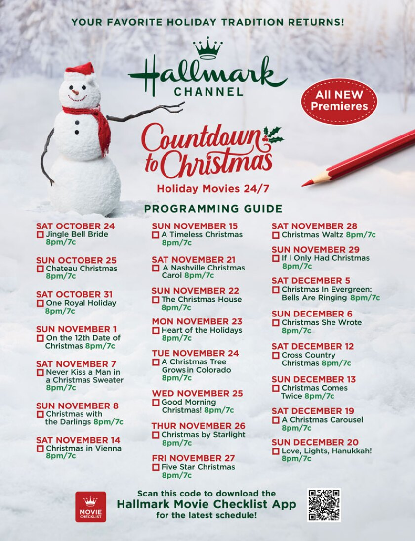 Movie Guide - Countdown to Christmas 2020 | Countdown to Christmas 2020