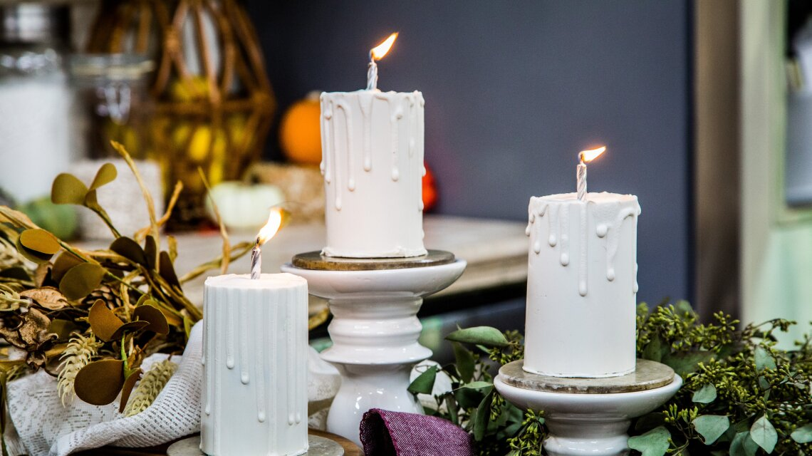 Edible Chocolate Candles