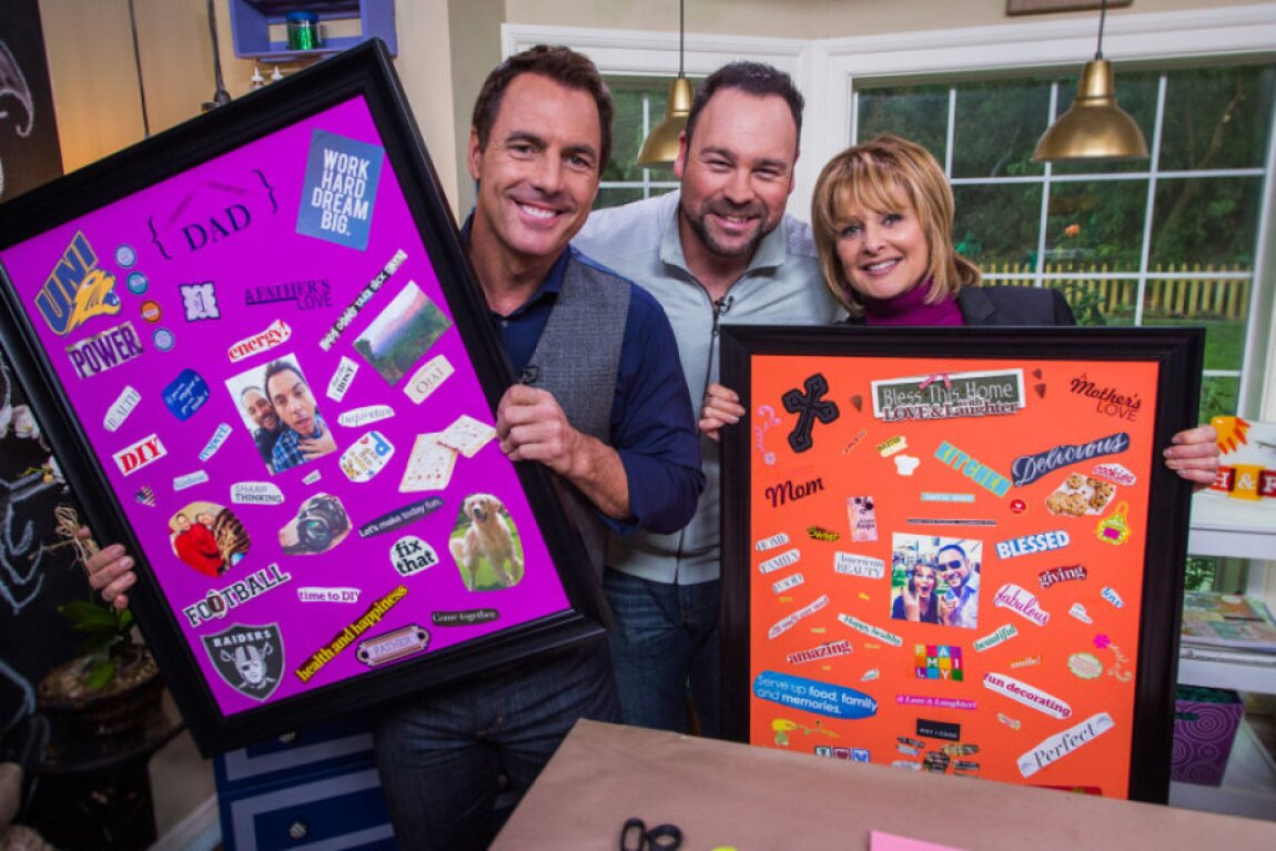 Matt Rogers' DIY Admiration Board