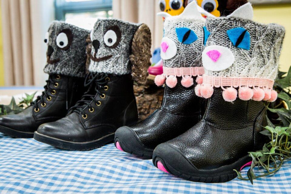 DIY Animal Boot Covers