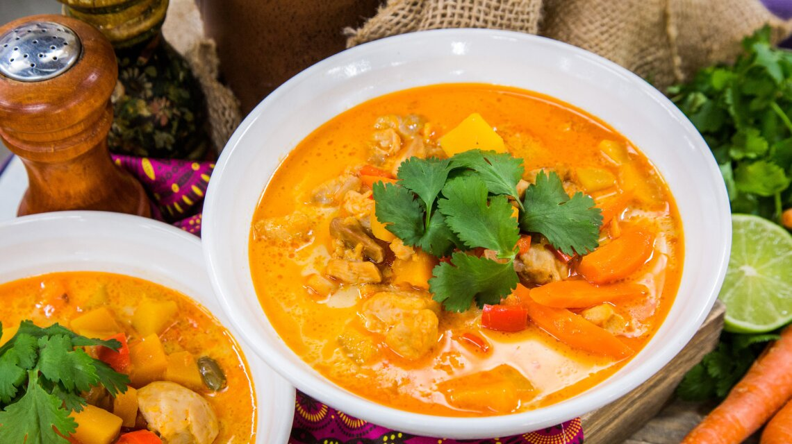 Marcia Smart - Coconut Red Curry Soup