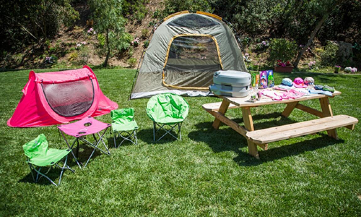 Kid Camping with Jill Simonian