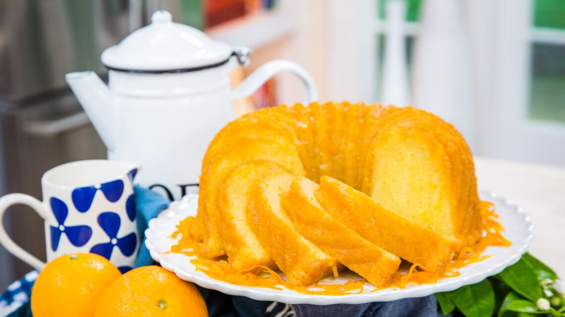 Alex Hitz - Orange Bourbon Pound Cake