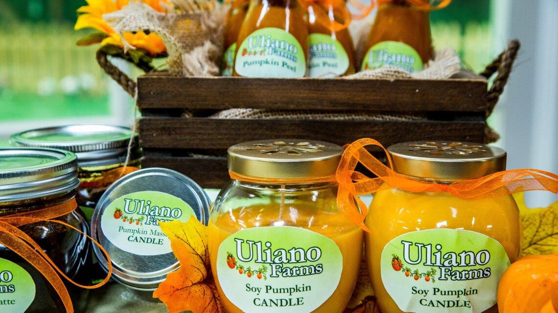 Pumpkin Massage Oil Candle