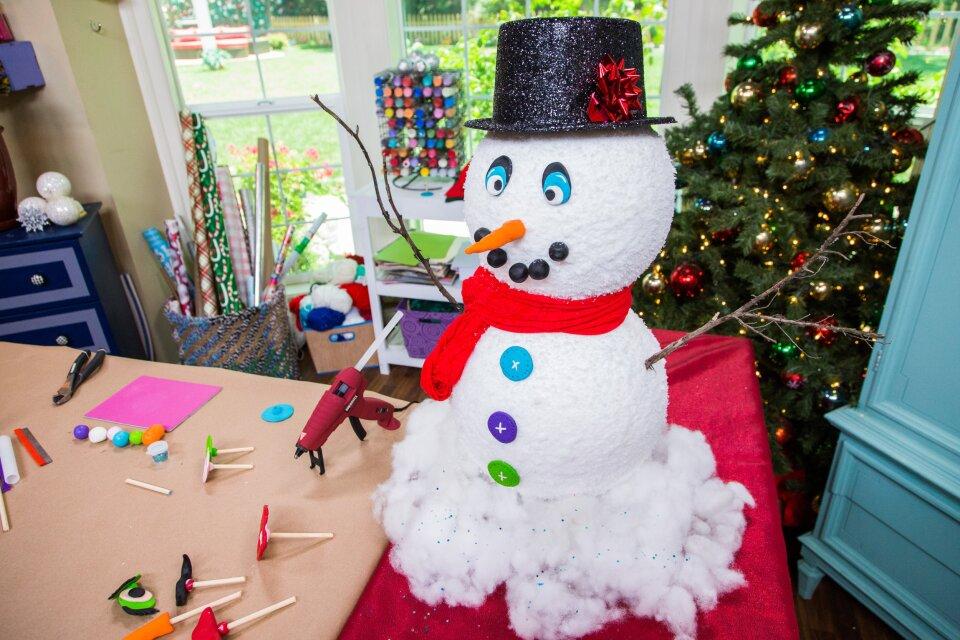 Tanya's DIY Snowman Kit