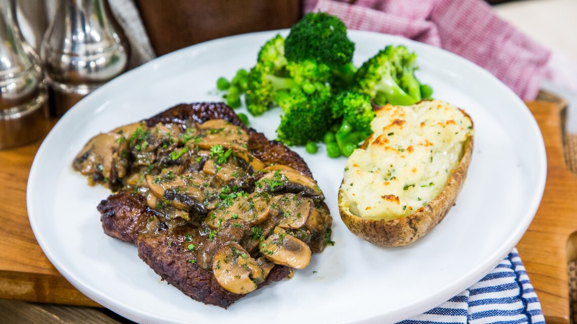 Chadwick Boyd Steak Diane Recipe