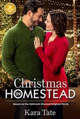 Christmas in Homestead Book Cover Hallmark Publishing