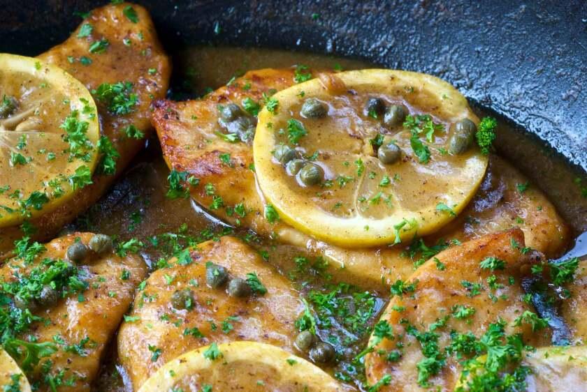 Lemon Chicken Scaloppini