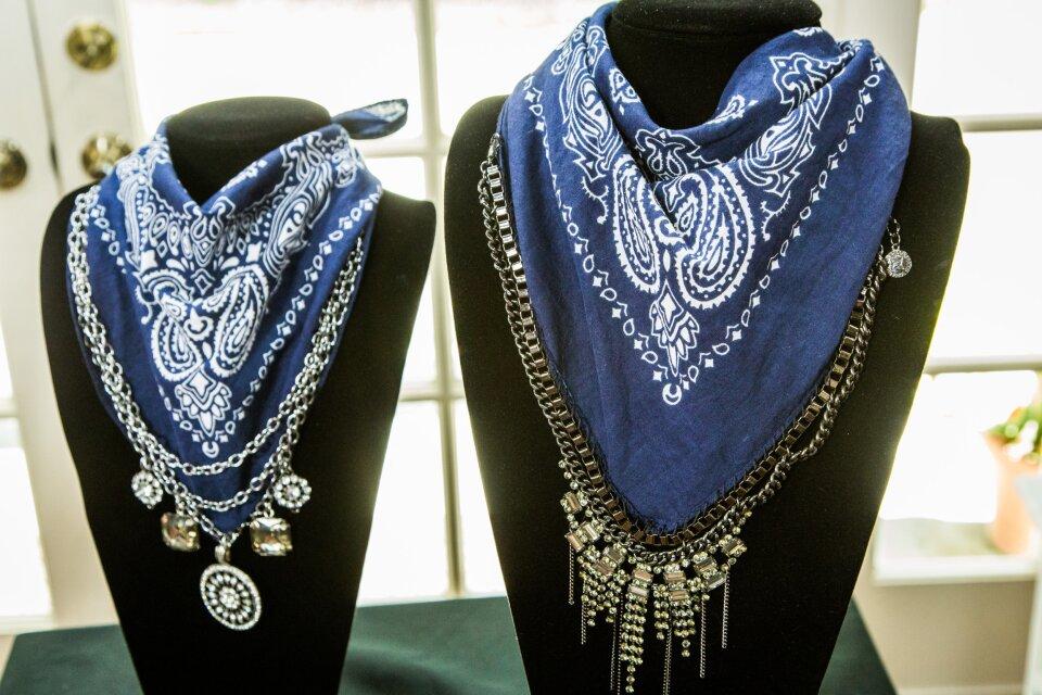 DIY Handkerchief/Necklace Combo