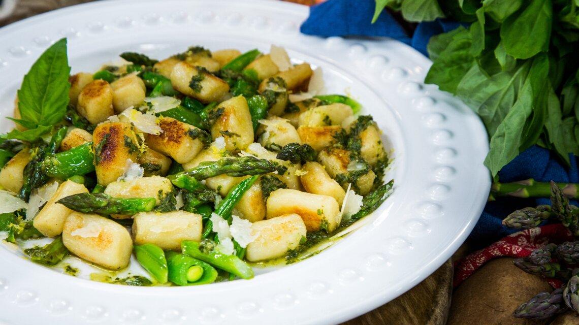 Gnocchi with Spring Vegetables