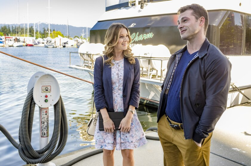 Alexa PenaVega and Shawn Roberts in the Romance Hallmark Movie Ms. Matched