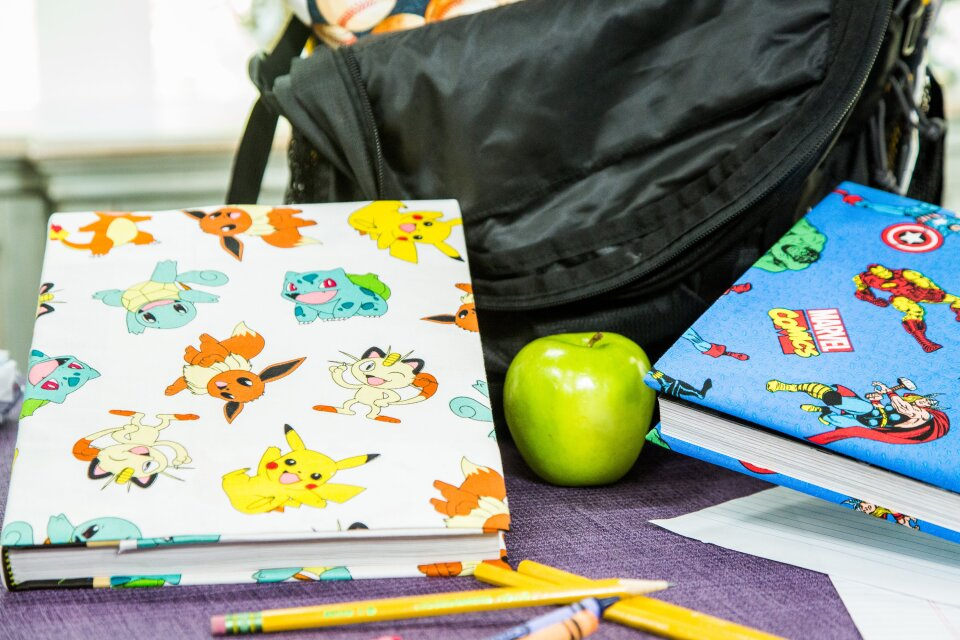 DIY Back to School Book Covers