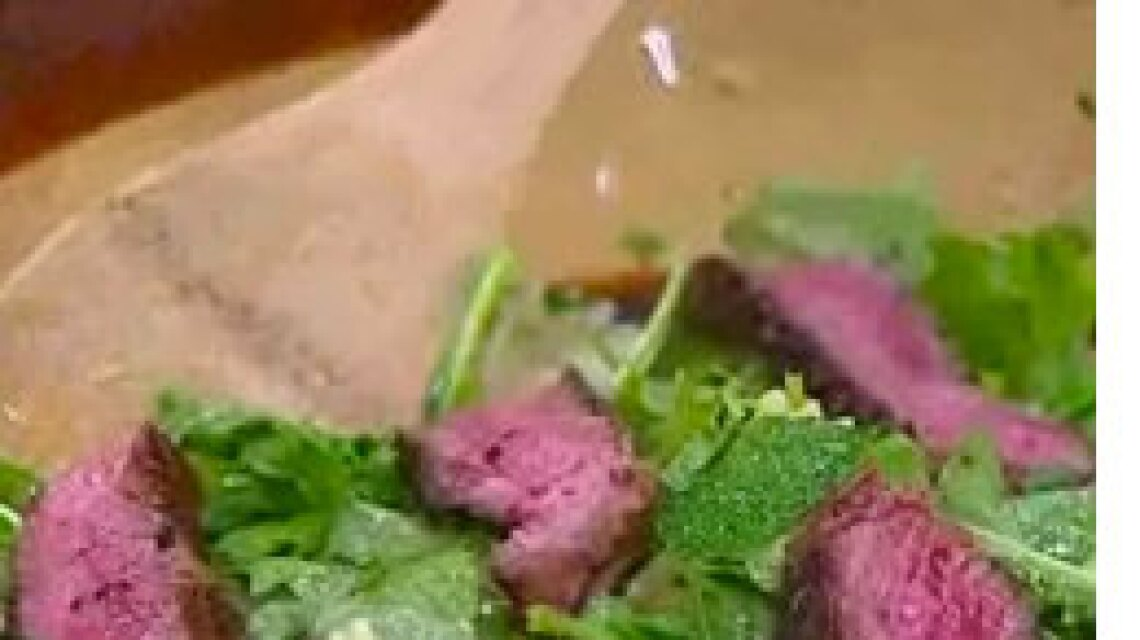 Cristina's Grilled Beef Salad with Pasta
