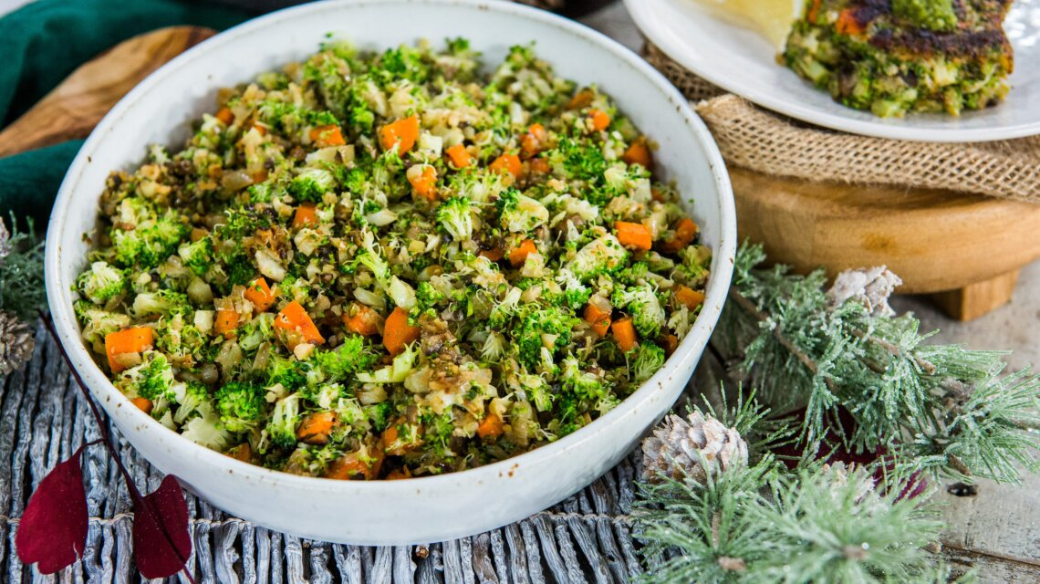 Nealy Fischer - Buttery Broccoli Rice Pilaf