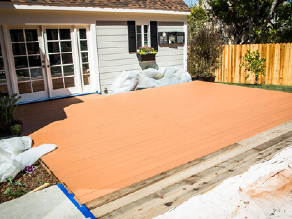 Staining the Deck with Tanya Memme