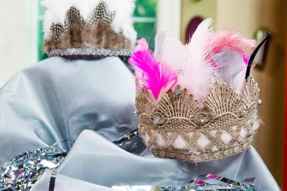 DIY Feather Princess Crown