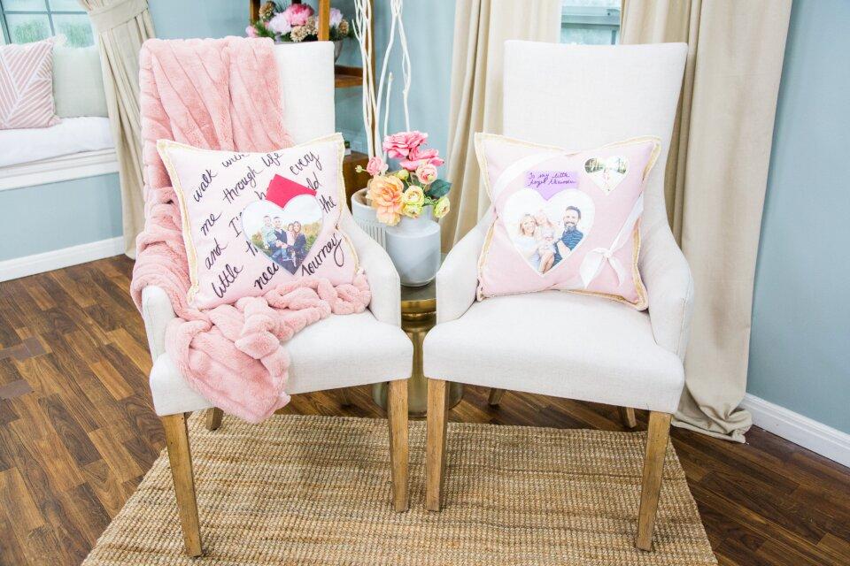 DIY Love Letter Pillows
