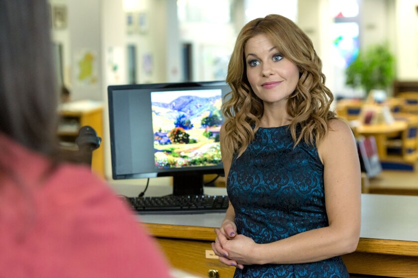 "Candace Cameron Bure stars in the Hallmark Movies & Mysteries original movie, ""Three Bedrooms, One Corpse: An Aurora Teagarden Mystery"""