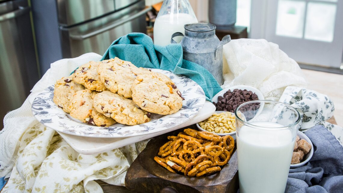 Crazy Kitchen Sink Cookies