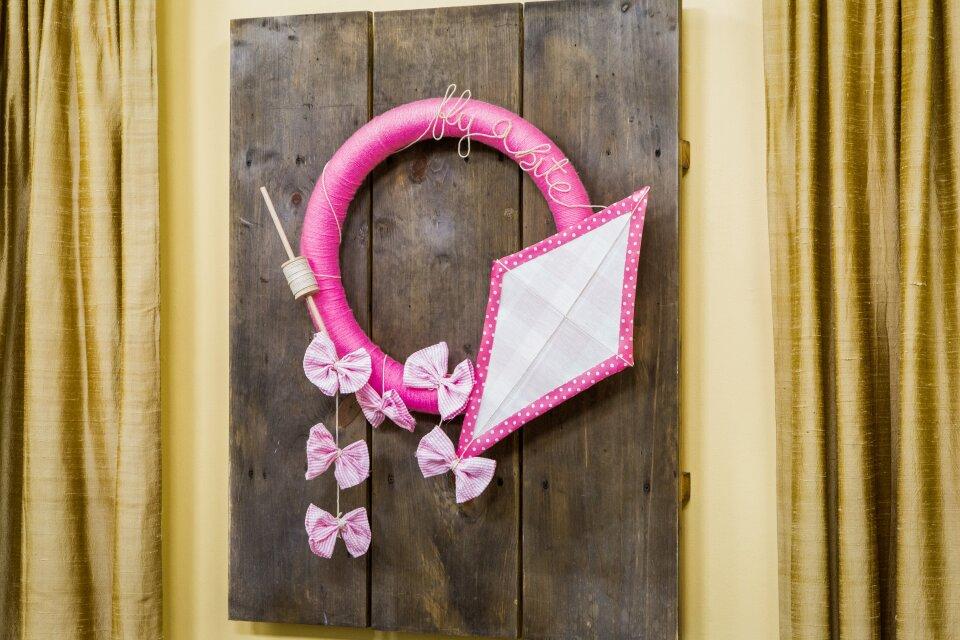 DIY Kite Door Hang