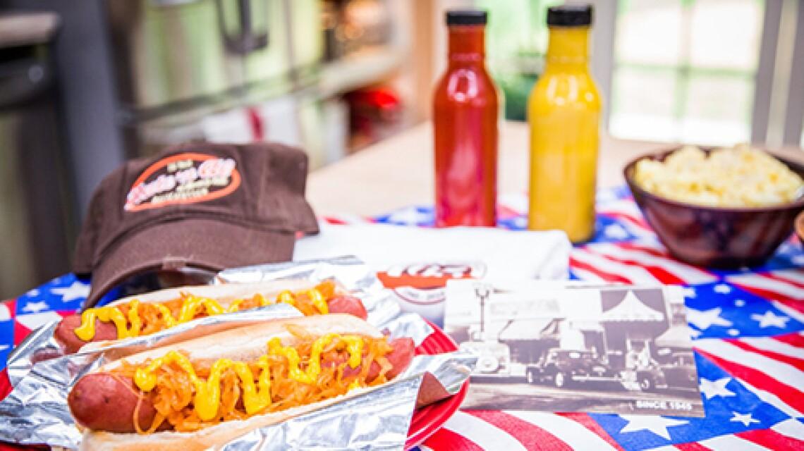 Cristina Cooks Sauerkraut for the Best Hot Dogs Ever!