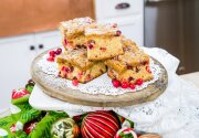 Cranberry Brown Sugar Buckle - Home & Family