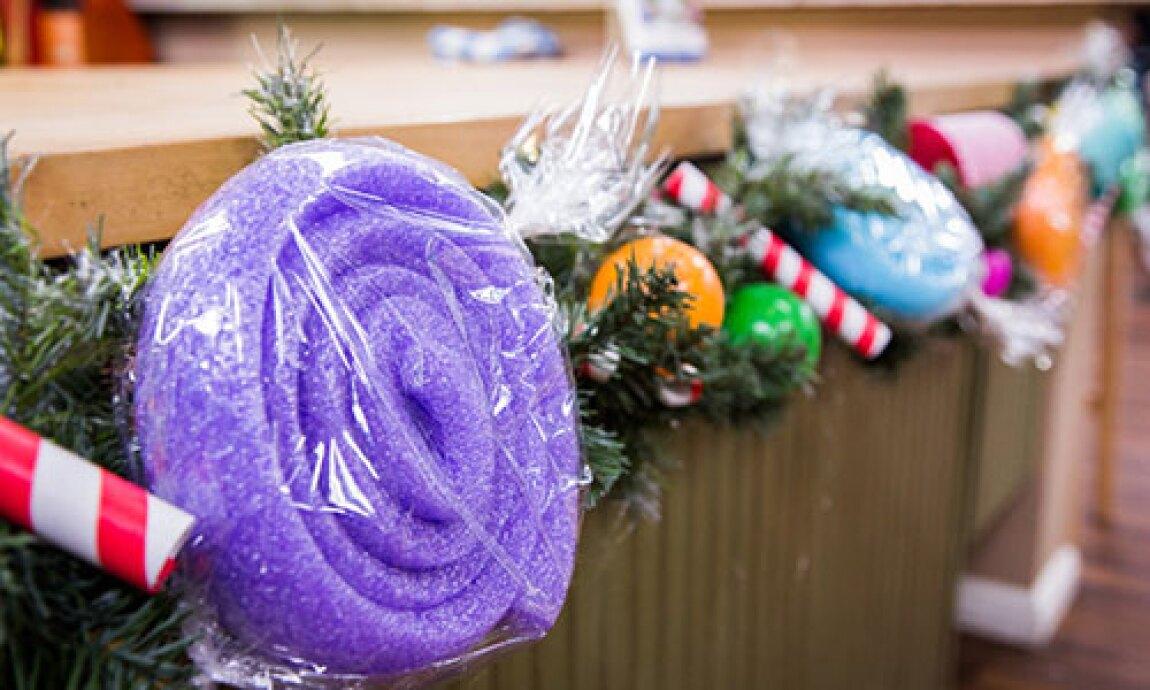 tanya memme's holiday gumdrop garland