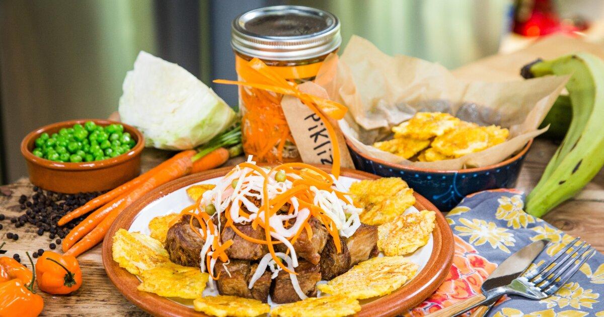 Recipe - Haitian Pikliz & Fried Plantains - Home & Family
