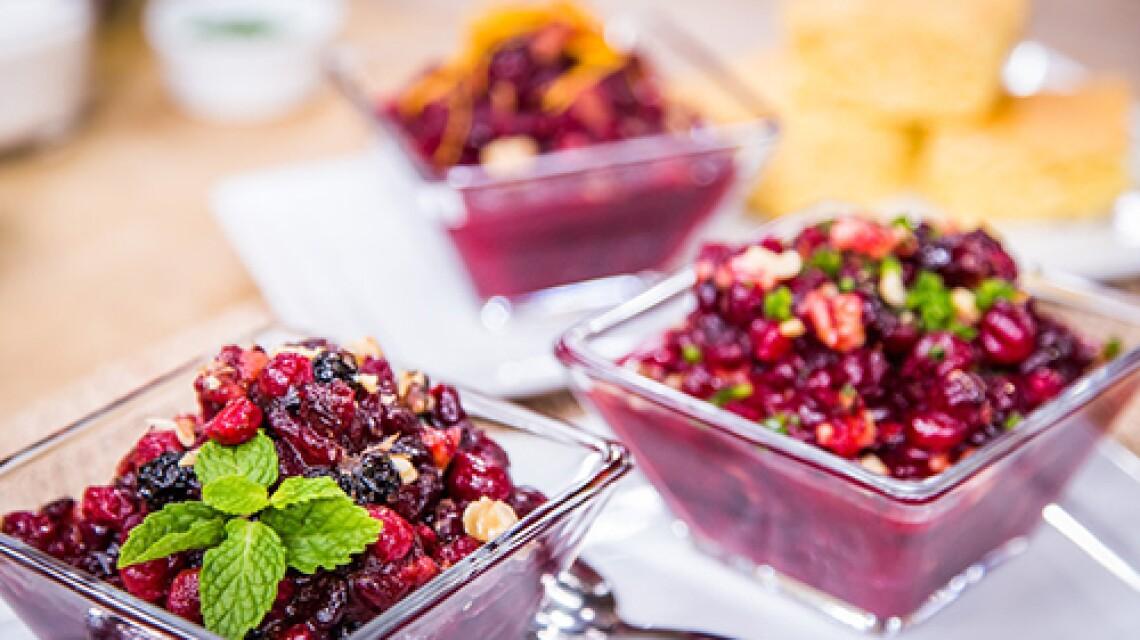 Jill Simonian's Baked Cranberry Relish