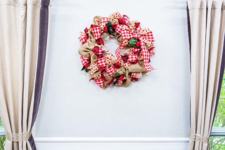 DIY Ribbon Work Wreath
