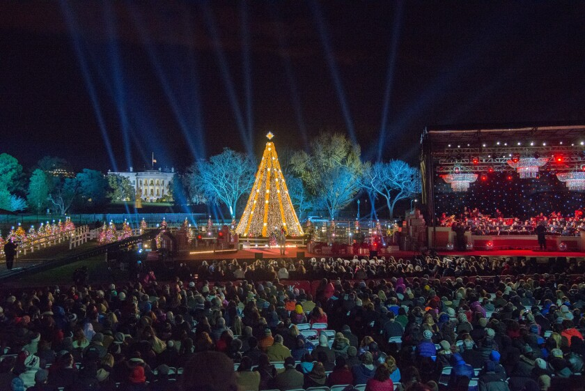Photos from The National Christmas Tree Lighting - 13