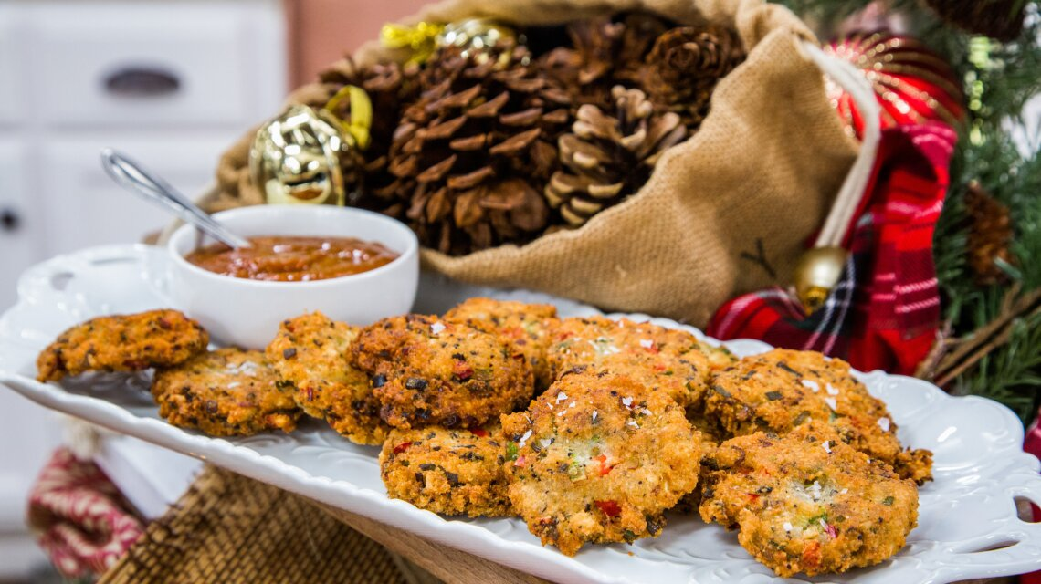 Christopher Kimball: Black-Eyed Pea Fritters