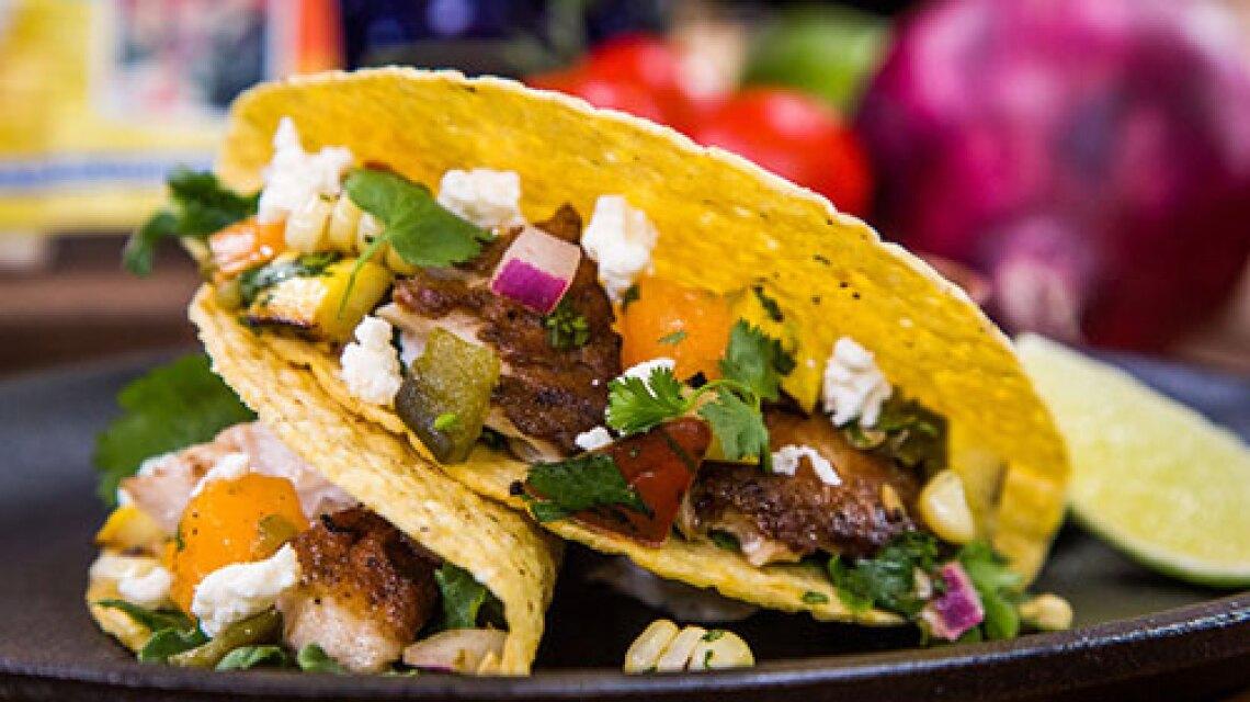 "Cristina Cooks: ""Taste of Home"" Magazine's Summer Garden Fish Tacos Recipe"