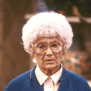Estelle Getty as Sophia Petrillo from Golden Girls
