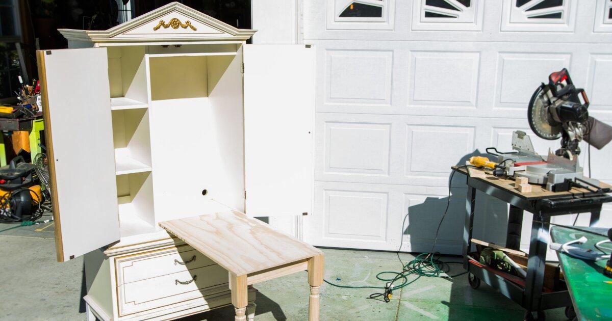 Repurposing Armoires Armoire Diy Projects 13 Creative Ideas Bob Vila