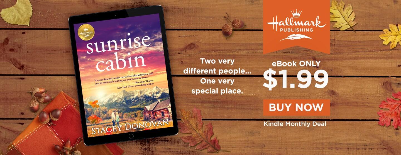 Sunrise Cabin September Monthly Kindle Deal