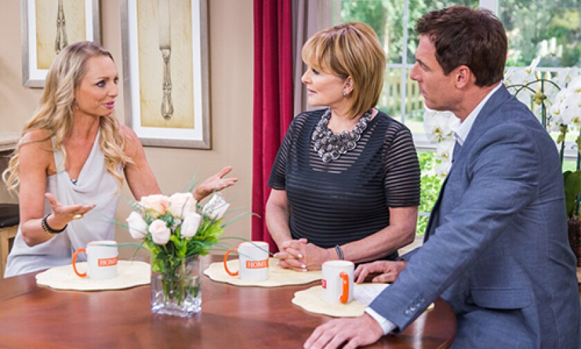 Today on Home & Family Thursday, April 17th, 2014