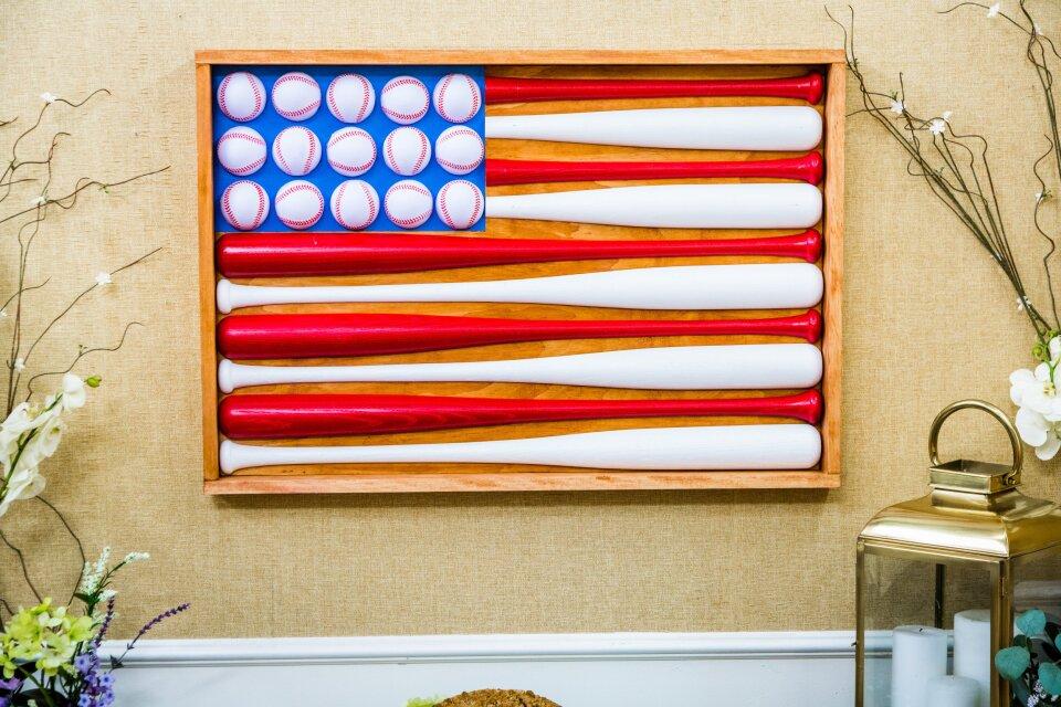 DIY Baseball Flag Artwork