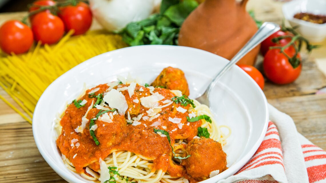 Recipes Spaghetti With Meatballs Home Family