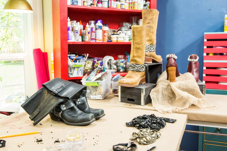 Orly's DIY Statement Boots