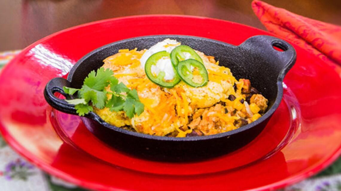 Cristina Cooks: Easy Chicken Tamale Pie