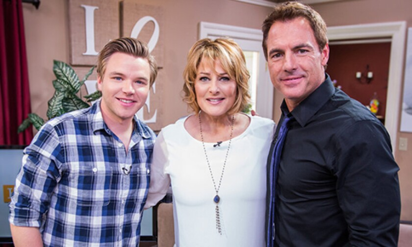 Today on Home & Family Wednesday, April 9th, 2014