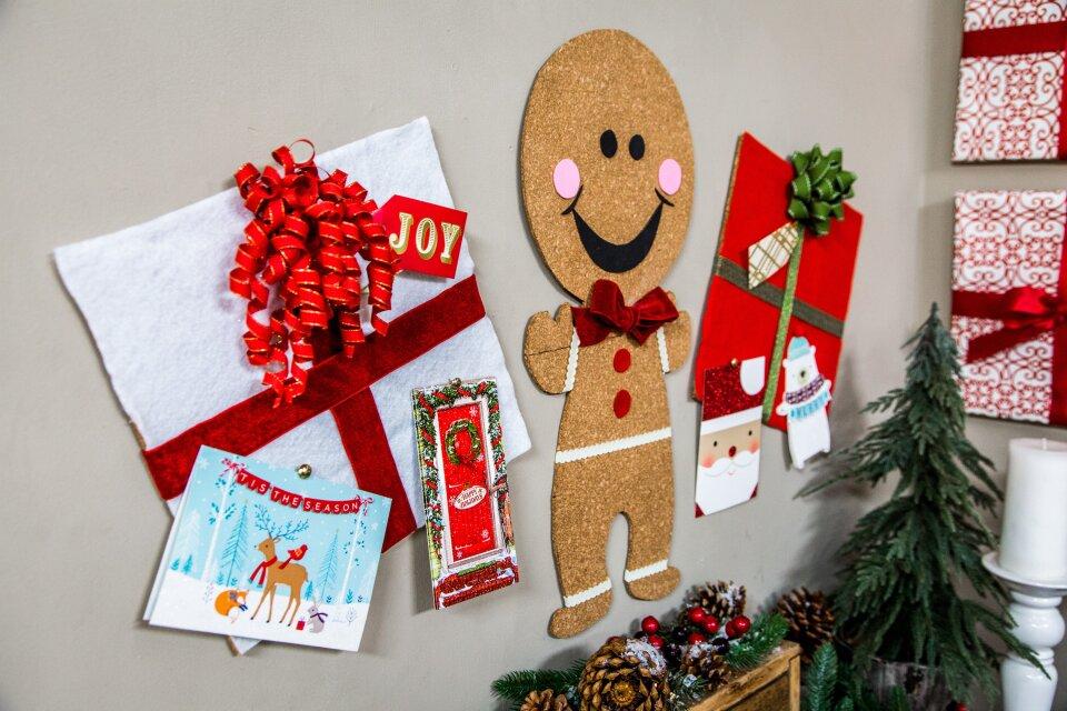 DIY Christmas Cork Boards