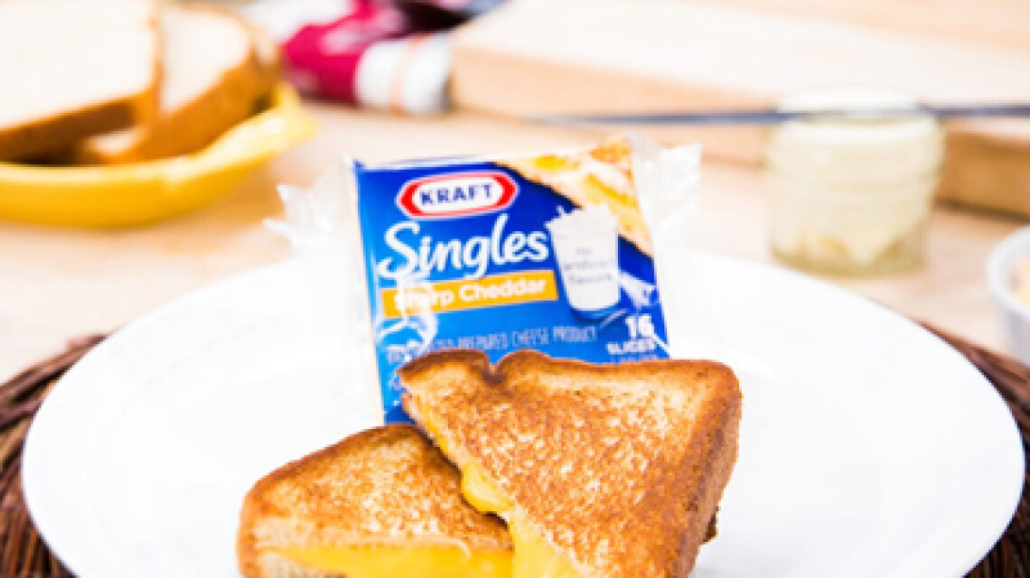 "Wayne Federman's ""World's Greatest Grilled Cheese Sandwich"""