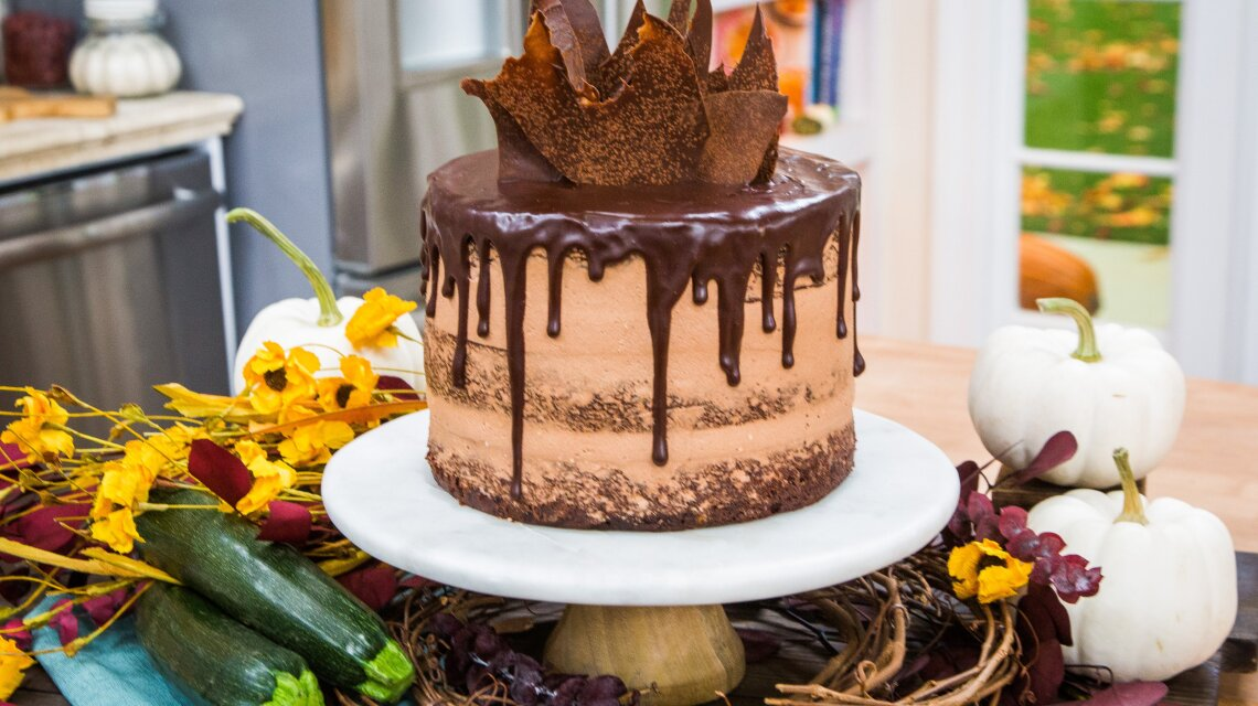 John Kanell - Chocolate Zucchini Cake